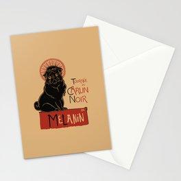 Le Carlin Noir (The Black Pug) Stationery Cards