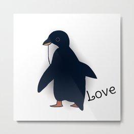 penguin-219 Metal Print
