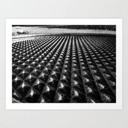Manhole Cover-Fort Smith, Arkansas Art Print