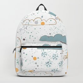 Winter Clouds Backpack