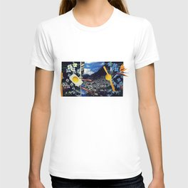 Wind pollination | Collage T-shirt