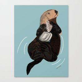 California Sea otter Canvas Print