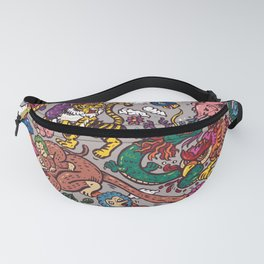 The Dragon with Owl Fanny Pack