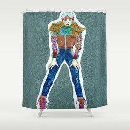 Fall winter Shower Curtain