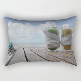Heaven on a hot summer day..  Rectangular Pillow