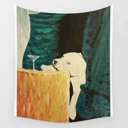 sleepy puppy Wall Tapestry