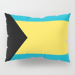 Flag Of The Bahamas Pillow Sham