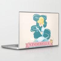 cinderella Laptop & iPad Skins featuring Cinderella by LindseyCowley