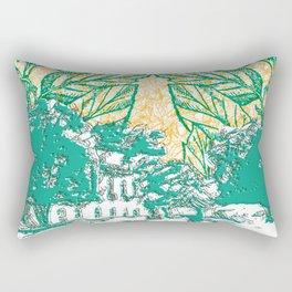 Céu do avesso Rectangular Pillow