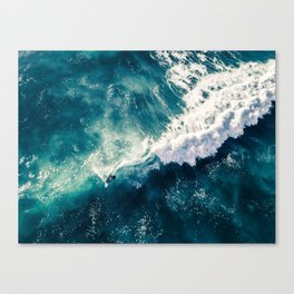 Viceral Surfer Canvas Print