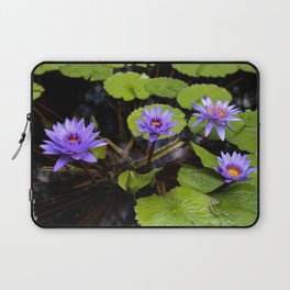 Water Lily Dreams Laptop Sleeve