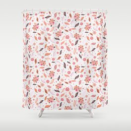 Ditsy Daisies Bouquet Shower Curtain