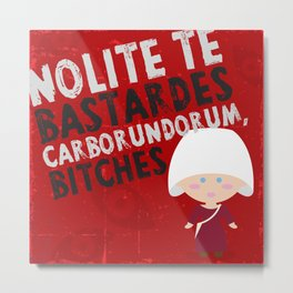 The handmaid´s tale Metal Print