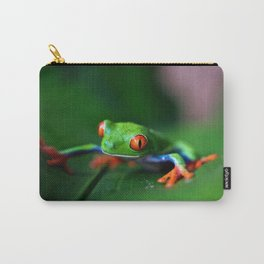 Little Tree Frog (Color) Carry-All Pouch