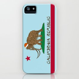 California Republic Mammoth iPhone Case