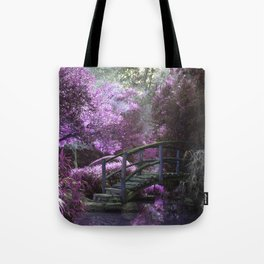 The Bridge Within The Cherry Blossoms Tote Bag