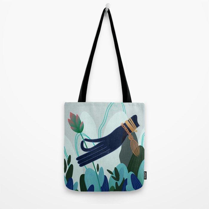 Lotus Magic: 04 Tote Bag