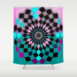 Psicoeli 13 Shower Curtain