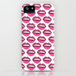 Love You Lips iPhone Case