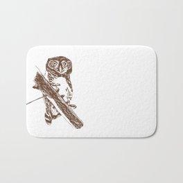 Forest Owlet Bath Mat
