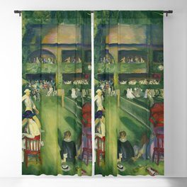 """George Wesley Bellows """"Tennis at Newport (1920)"""" Blackout Curtain"""