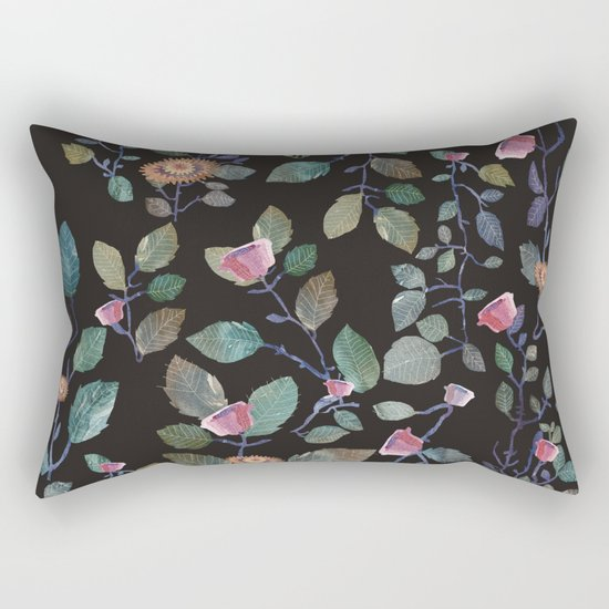 climb flowers Rectangular Pillow