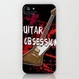 Guitar Obsession iPhone Case