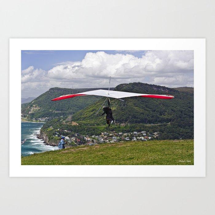 Flight for Two  Art Print