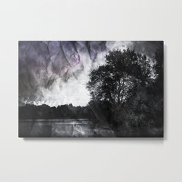 Forgotten in Shadows Metal Print