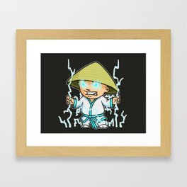 Little Lightning Framed Art Print