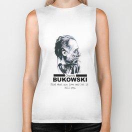 Charles Bukowski Biker Tank