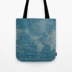 The World According to US Tote Bag
