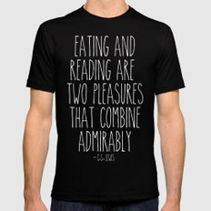 An Admirable Combo Mens Fitted Tee Black MEDIUM