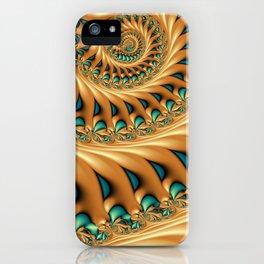 Fractal Splendor, Modern 3D Art iPhone Case