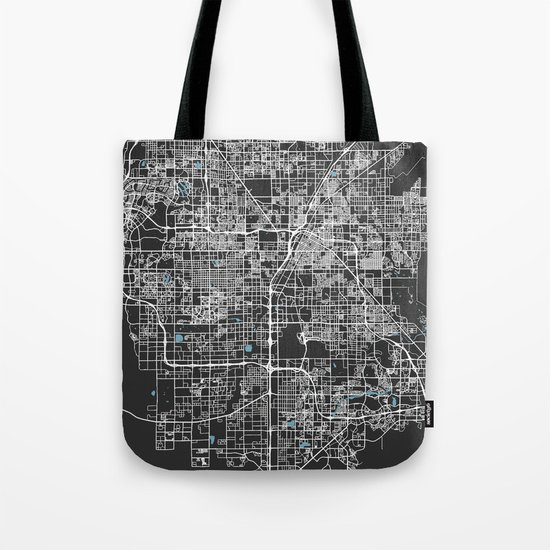 Las Vegas Map Nevada | Black & Blue | More Colors, Review My Collections by deboraweber