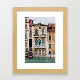 Venice Architecture Framed Art Print