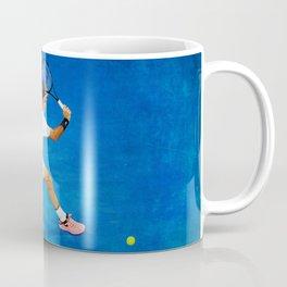Roger Federer Sliced Backhand Coffee Mug