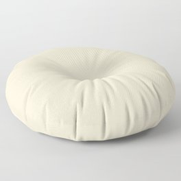 Valspar America Crafted White Off White Cream 3007-6C Solid Color Floor Pillow