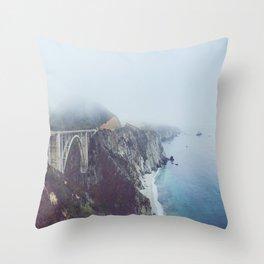 Bixby Through the Fog Throw Pillow