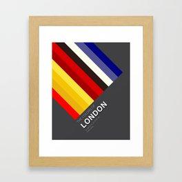 Colors of London Framed Art Print