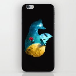 The Most Beautiful Thing (dark version) iPhone Skin