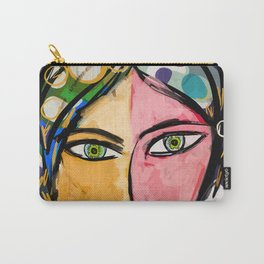 Portrait of a mystique girl Carry-All Pouch