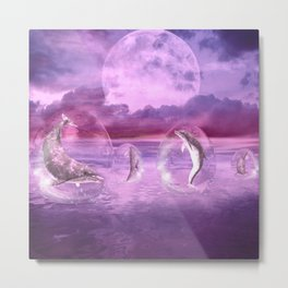 Dream Of Dolphins Metal Print