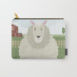 Sheep in a meadow Carry-All Pouch
