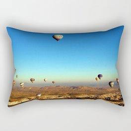 Hot Air Balloons (Color) Rectangular Pillow