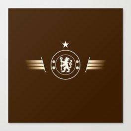football team logo team Canvas Print