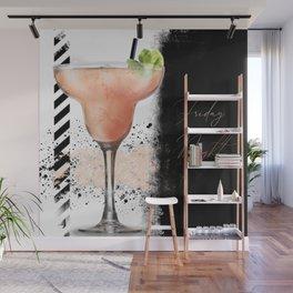 Friday Night - Digital Artwork Wall Mural