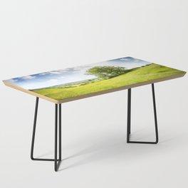 Idyllic Cotswold Summer Landscape Coffee Table