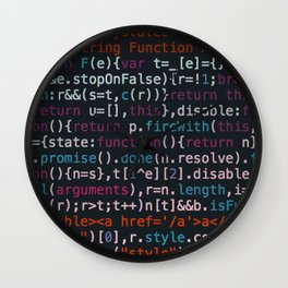 Computer Science Code Wall Clock