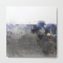 Rainy Rembrandt Metal Print